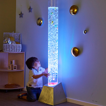 Giant Sensory Colour Bubble Tube  medium