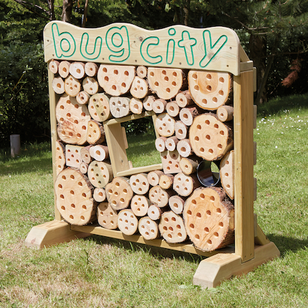 Wooden Bug City  large