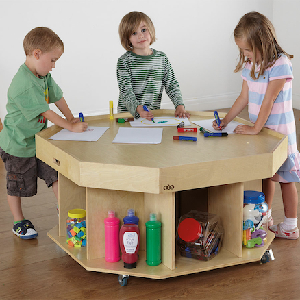 Active World Wooden Table D100 x H58cm  large