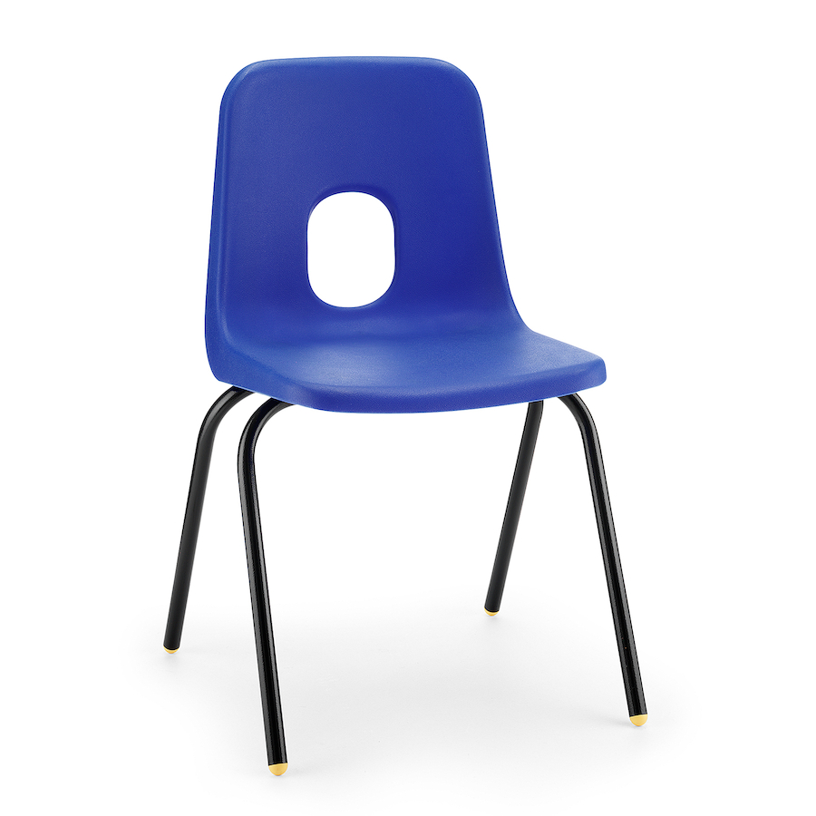 Buy series e classroom chairs tts for Small blue armchair