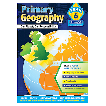 Primary Geography Teacher\'s Books Year 6  large