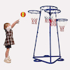 Four Hoop Basketball Playground Skill Trainer  small
