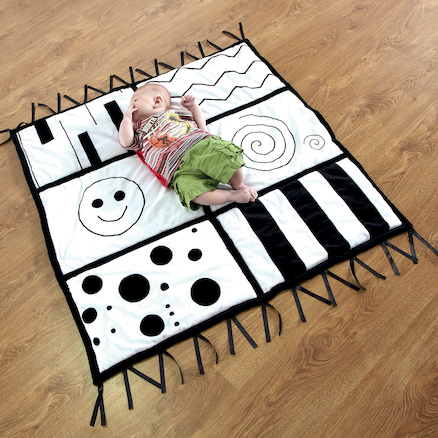 Baby Black and White Mat and Accessories Offer  large