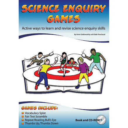 Science Enquiry Games Book and CD Rom  large