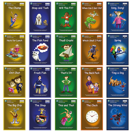 Dandelion Launchers Phonics Decodable Books  large