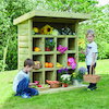 Outdoor Wooden Storage Unit W1.2 x H1.5m  small