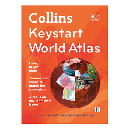 Collins Keystart World Atlases KS2  large