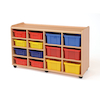 Safe Sturdy Tray Storage Units 8 Shallow \/ 6 Deep  small