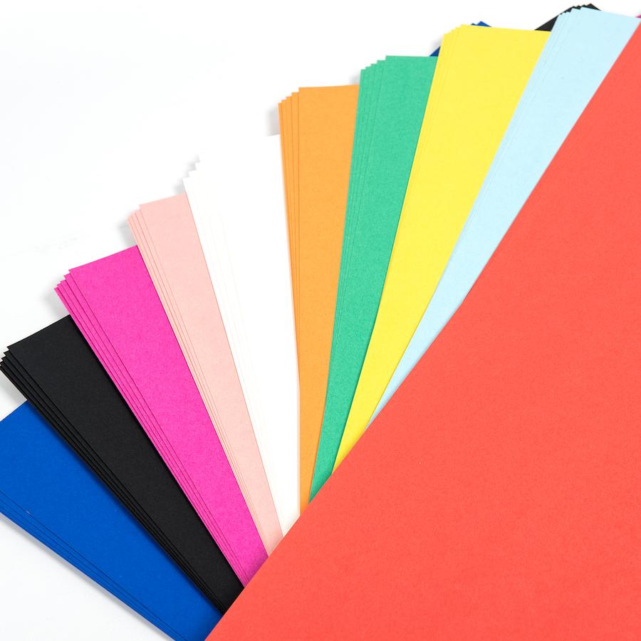 Buy Poster Paper Board Assorted 558 x 710mm 50pk | TTS