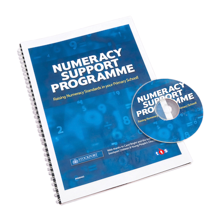 Primary Numeracy Support Programme Book and CD  large