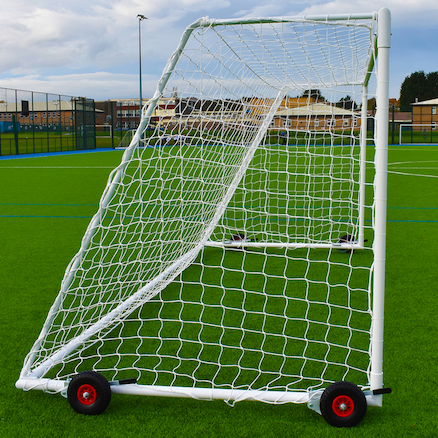 Steel Portable Goals \- Pair  large