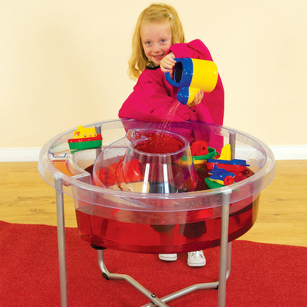 Circular Sand and Water Play Table  large