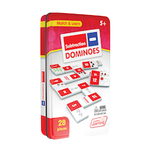 Subtraction Dominoes - 28pk  medium