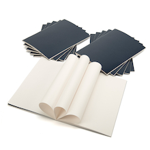 Pisces Laminated Stapled Sketchbooks A4 140gsm  medium