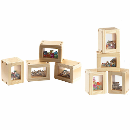 Wooden Bead Blocks 8pk  large