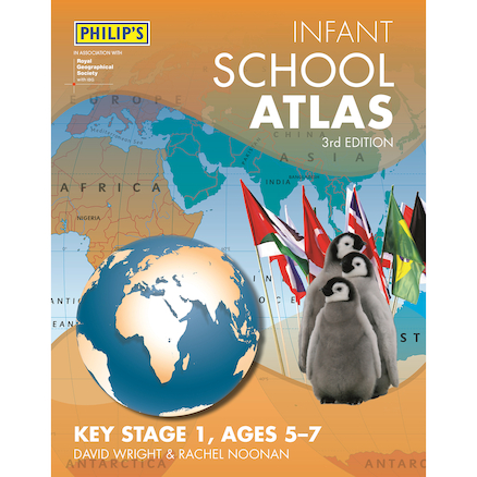 Philip\u2019s Infant School Atlas KS1  large