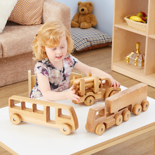 Jumbo Wooden Vehicles  medium