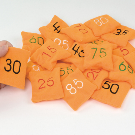 Beanbags Counting in 5s 20pcs  large