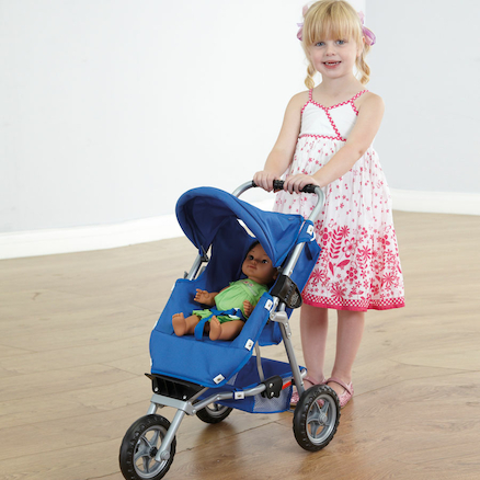3 Wheel Role Play Pushchair  large