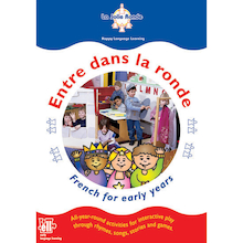 Entre Dans La Ronde French Activity Book and CDs  medium