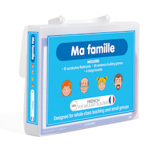 French Vocabulary Builders - Family  medium
