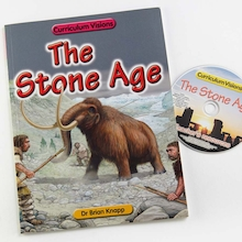 Stone Age Book and CD  medium