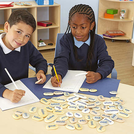 Tricky Word Pebbles Year 1 45 to 80mm  large