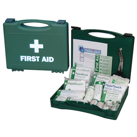 Workplace First Aid Kit in Plastic Case  large