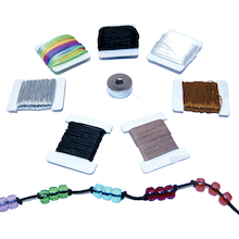 Assorted Jewellery Threading Cord 8pk  medium