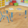 Copenhagen Flower Shaped Classroom Table  small