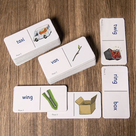 Decodable Word Dominoes  large