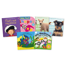 Touch and Feel Baby Books 6pk  medium