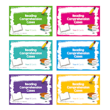 Reading Comprehension Cards  medium