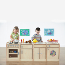 Role Play Wooden Kitchen Unit Collection  medium