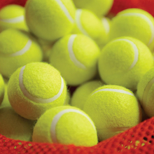 Training Quality Tennis Balls and Bag 48pk  medium