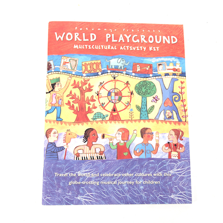 Playground Multicultural Activity Book and CD  large