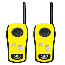 Yellow Long Range Walkie Talkies  medium