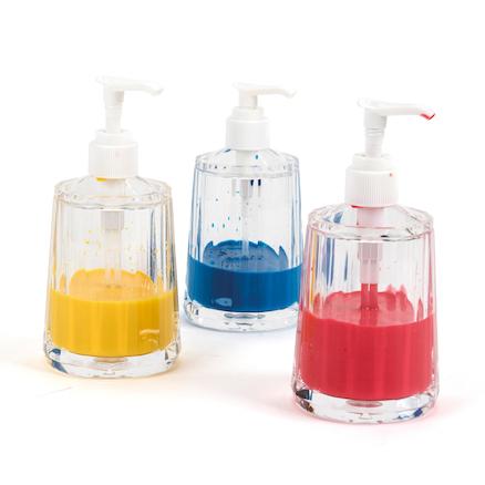 ca91b7506f77 Clear Plastic Paint Dispensers 6pk