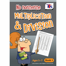 No Nonsense Multiplication and Division Book  medium