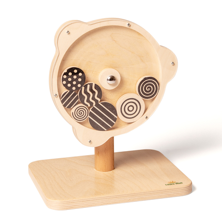 Wooden Rotating Sensory Spirals  large