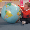 67cm Inflatable Globe  small