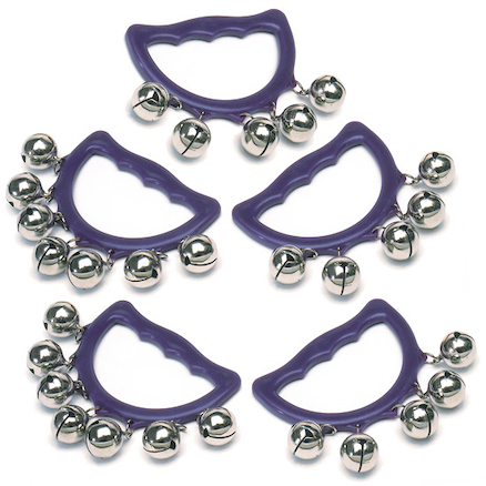 Bell Tambourines 5pk  large