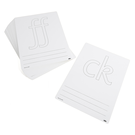 Double Sided Messy Letters Whiteboards  large