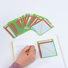 Multiplication Stickers 6pk  medium