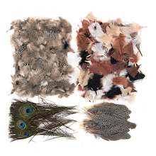 Feather Pack Assorted  medium