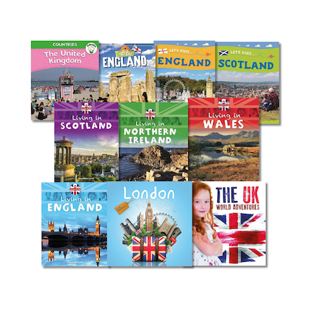 KS1 Explore the United Kingdom Books 10pk  large