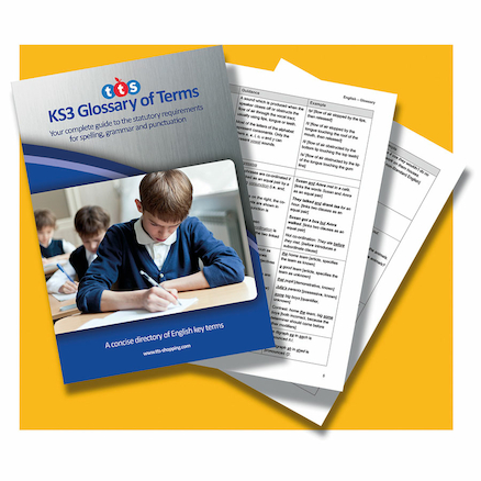 KS3 Glossary Of Terms For English Book  large