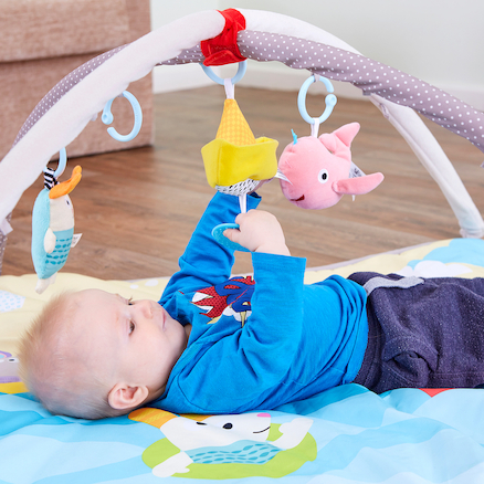 Padded Baby Gym and Playmat  large