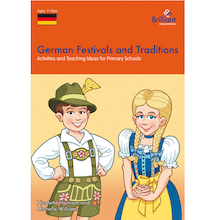 German Festivals and Traditions Book  medium