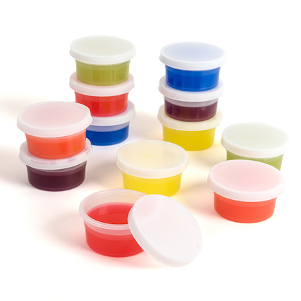 Small Plastic Pots with Lids  large